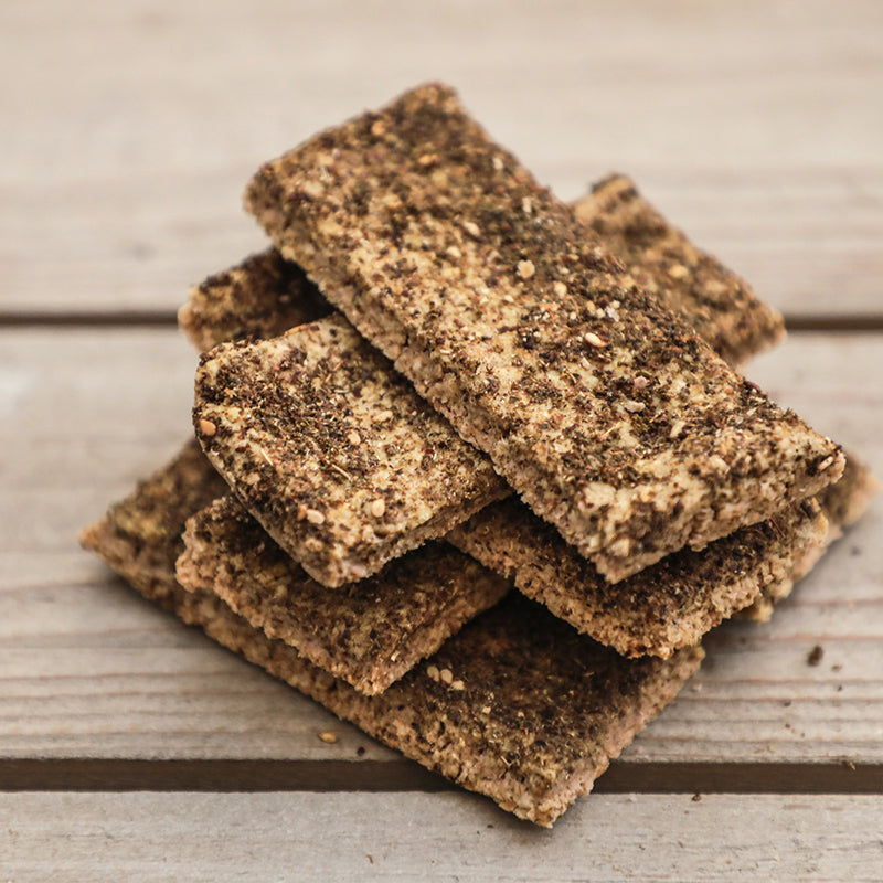 Oat Zaatar Crackers (GF)