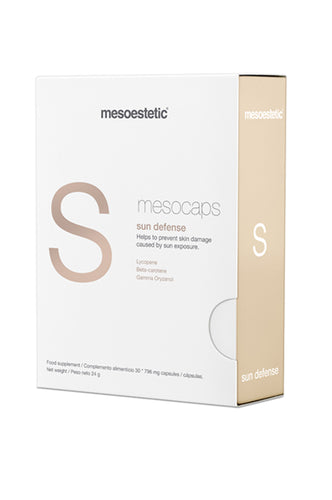 mesoestetic mesocaps sun defense