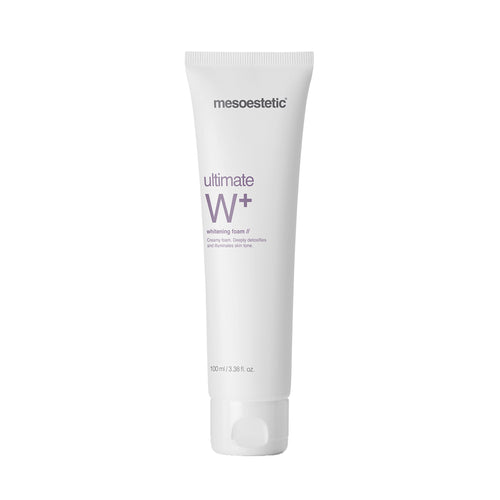 mesoestetic ultimate W+ whitening foam