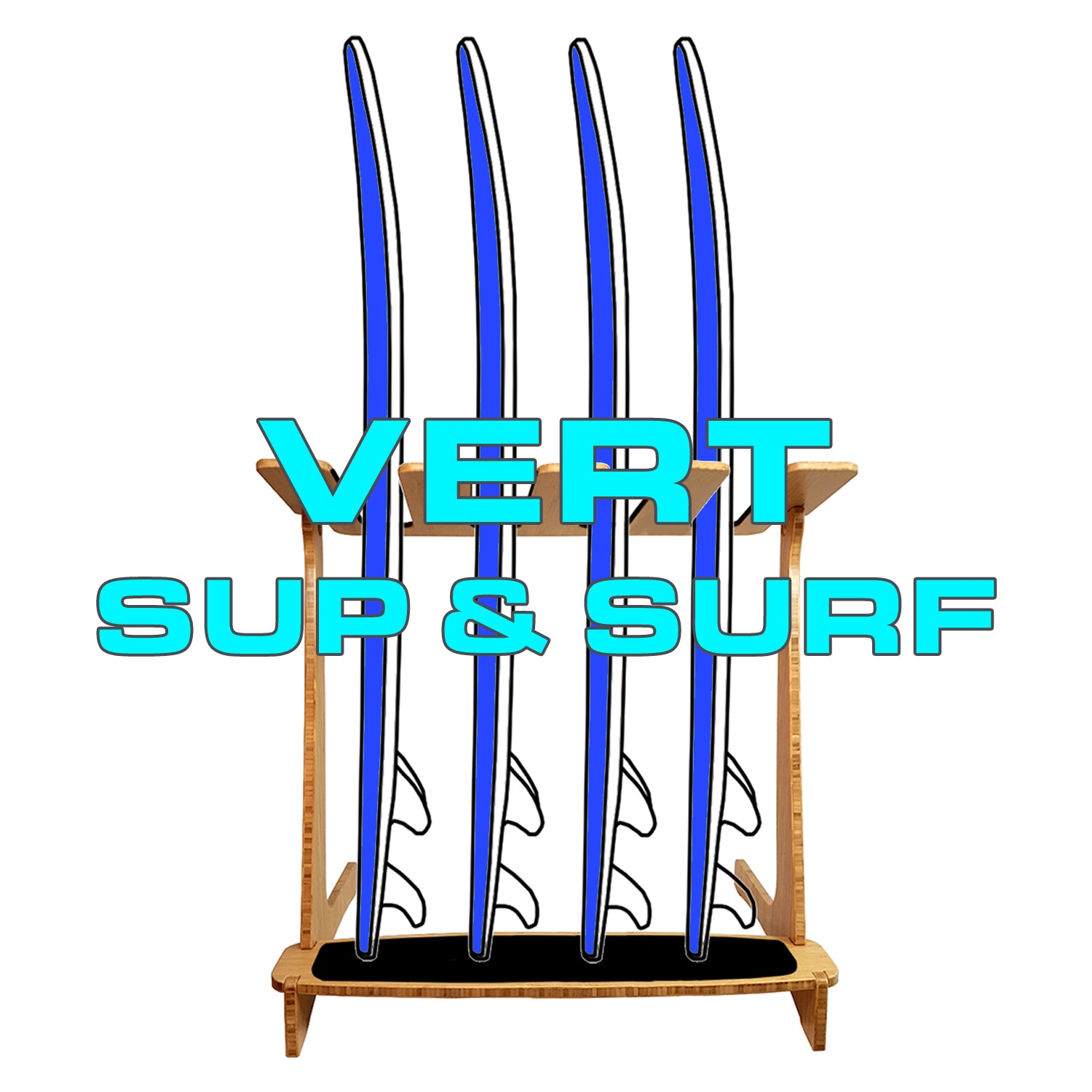 VERTICAL SUP RACKS & SURF RACKS