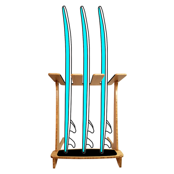 Freestanding Vertical Surfboard Rack