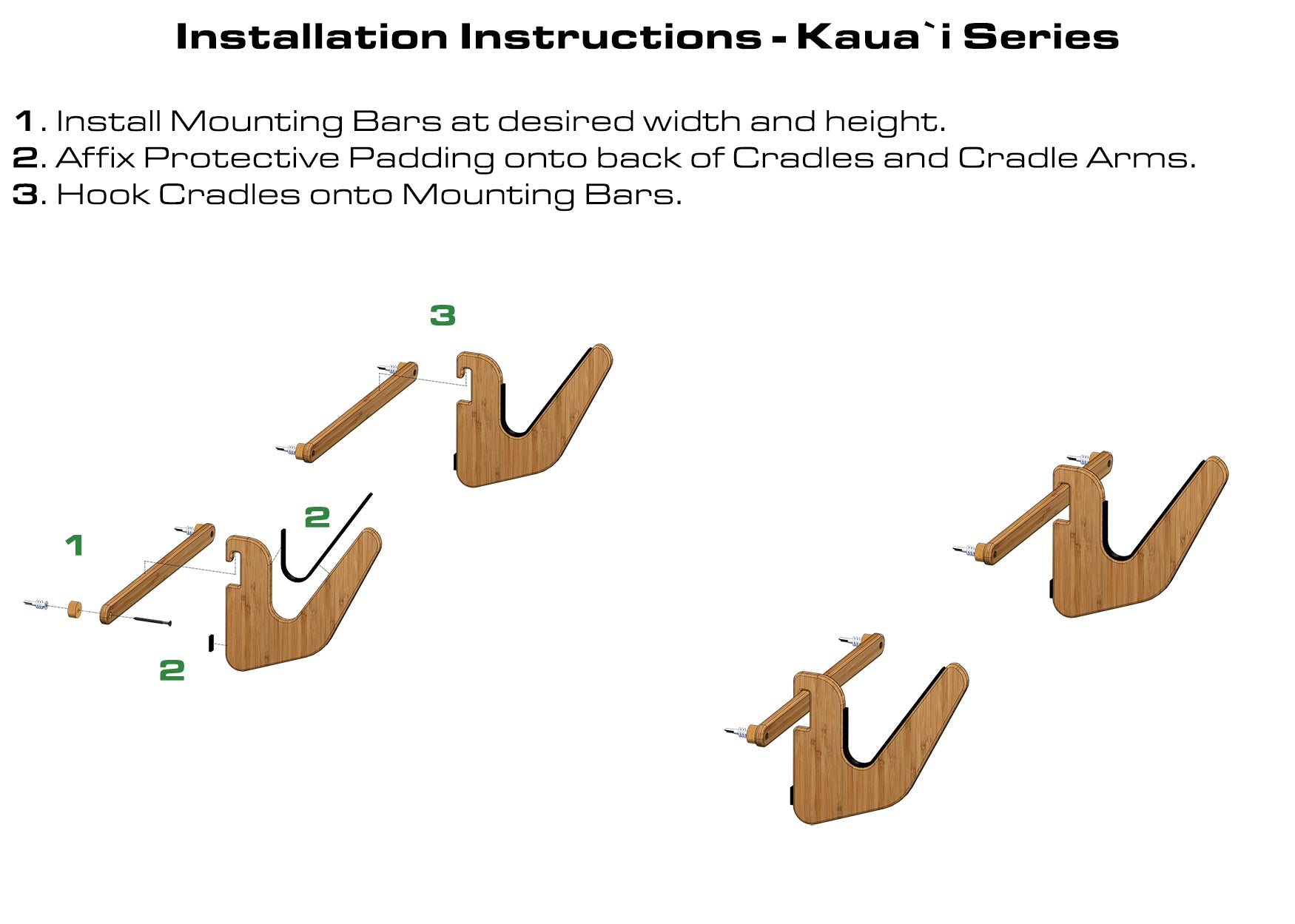 Surf Rack Installation Instructions - Grassracks Kaua'i Surf Rack