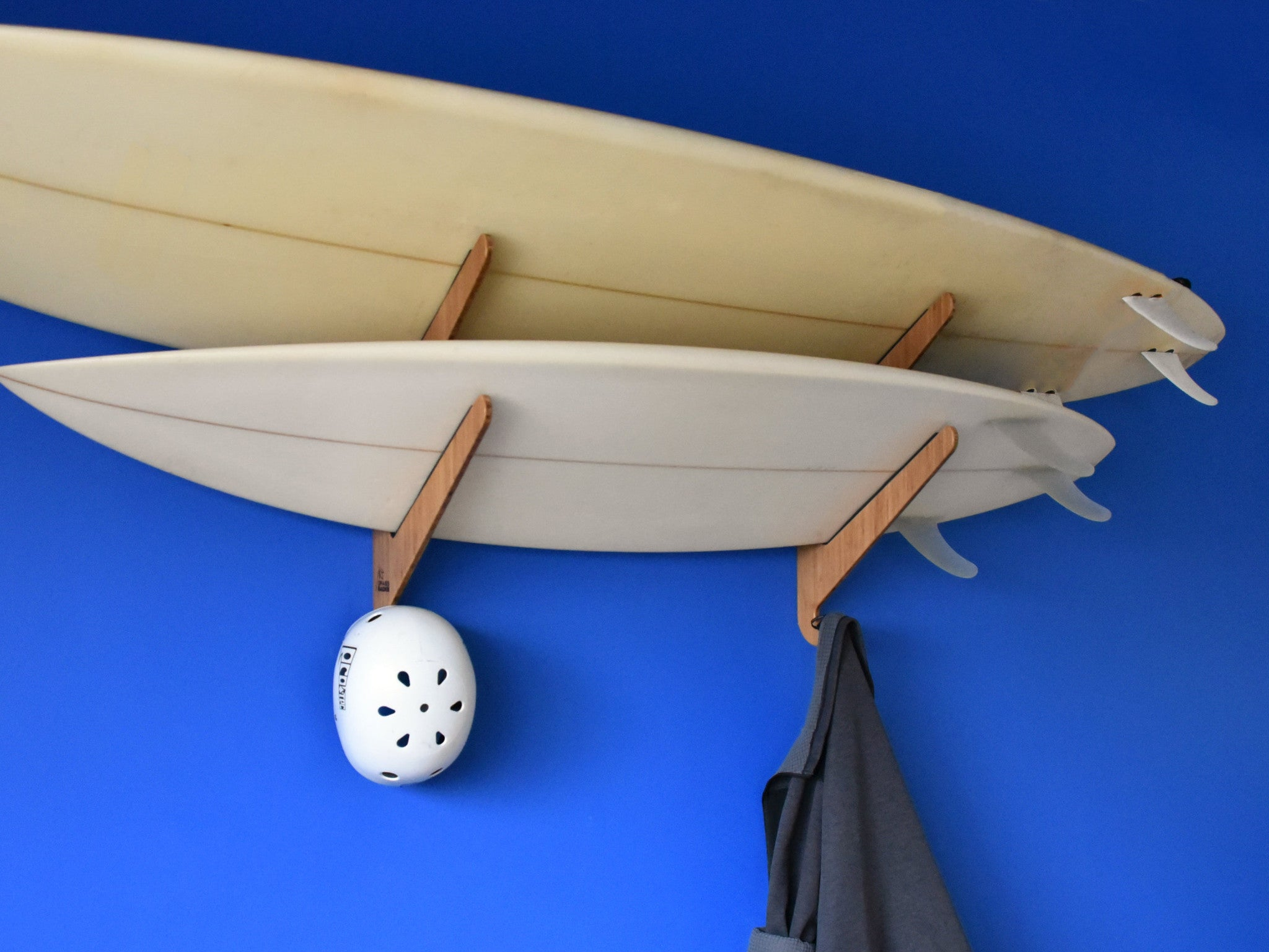 The Kaua'i Series - Bamboo Surfboard Rack