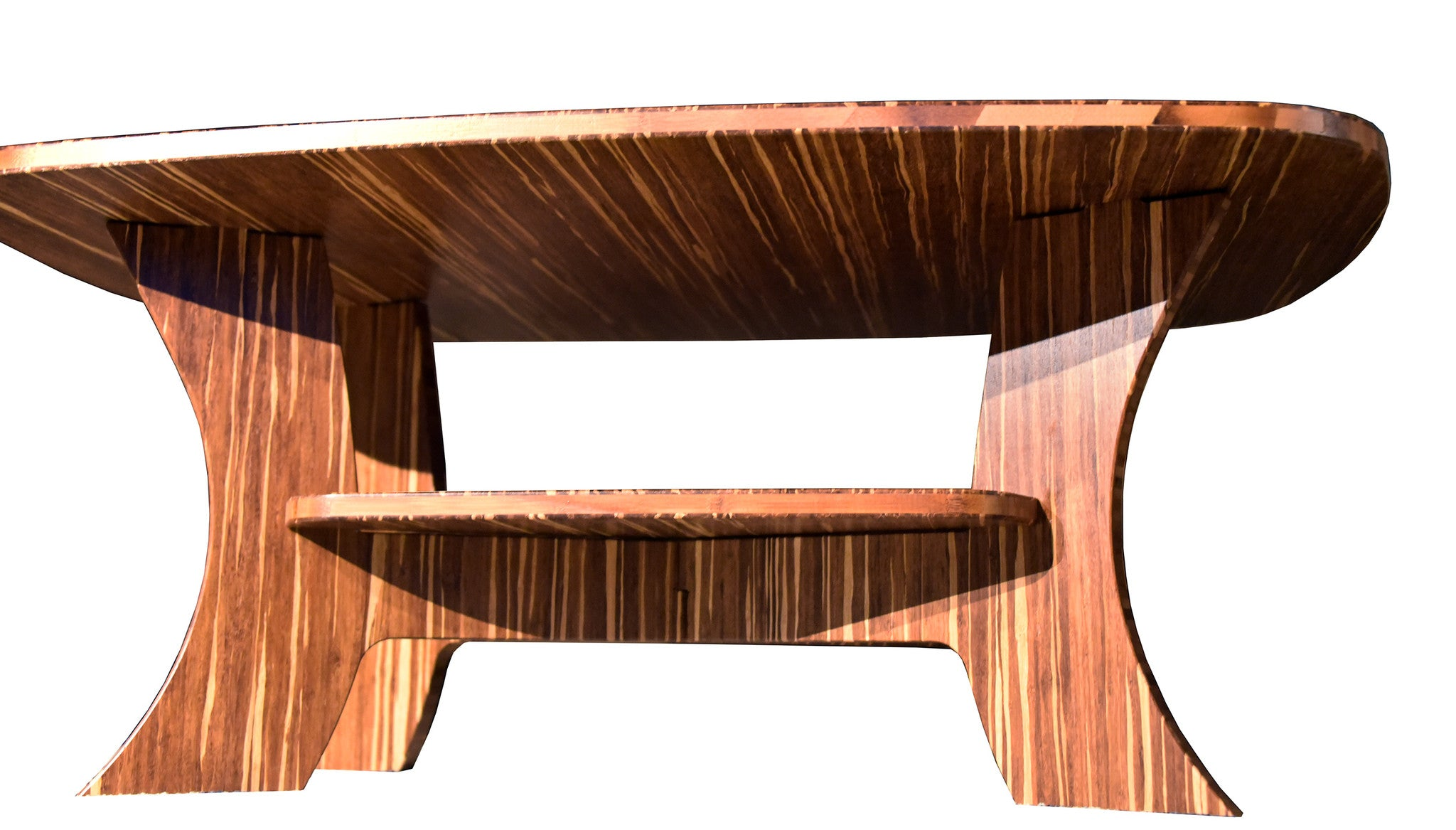 The Samurai Series - Bamboo Rectangular Coffee Table