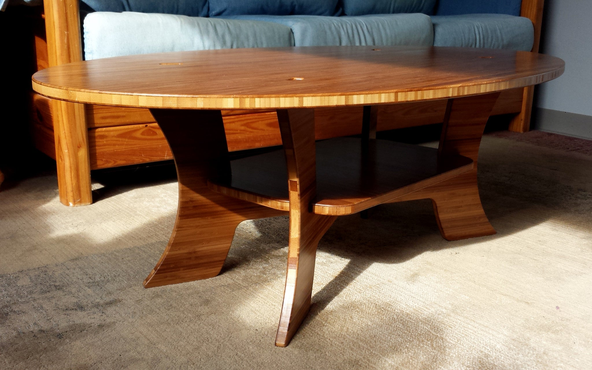 The Samurai Coffee Table Bamboo Furniture