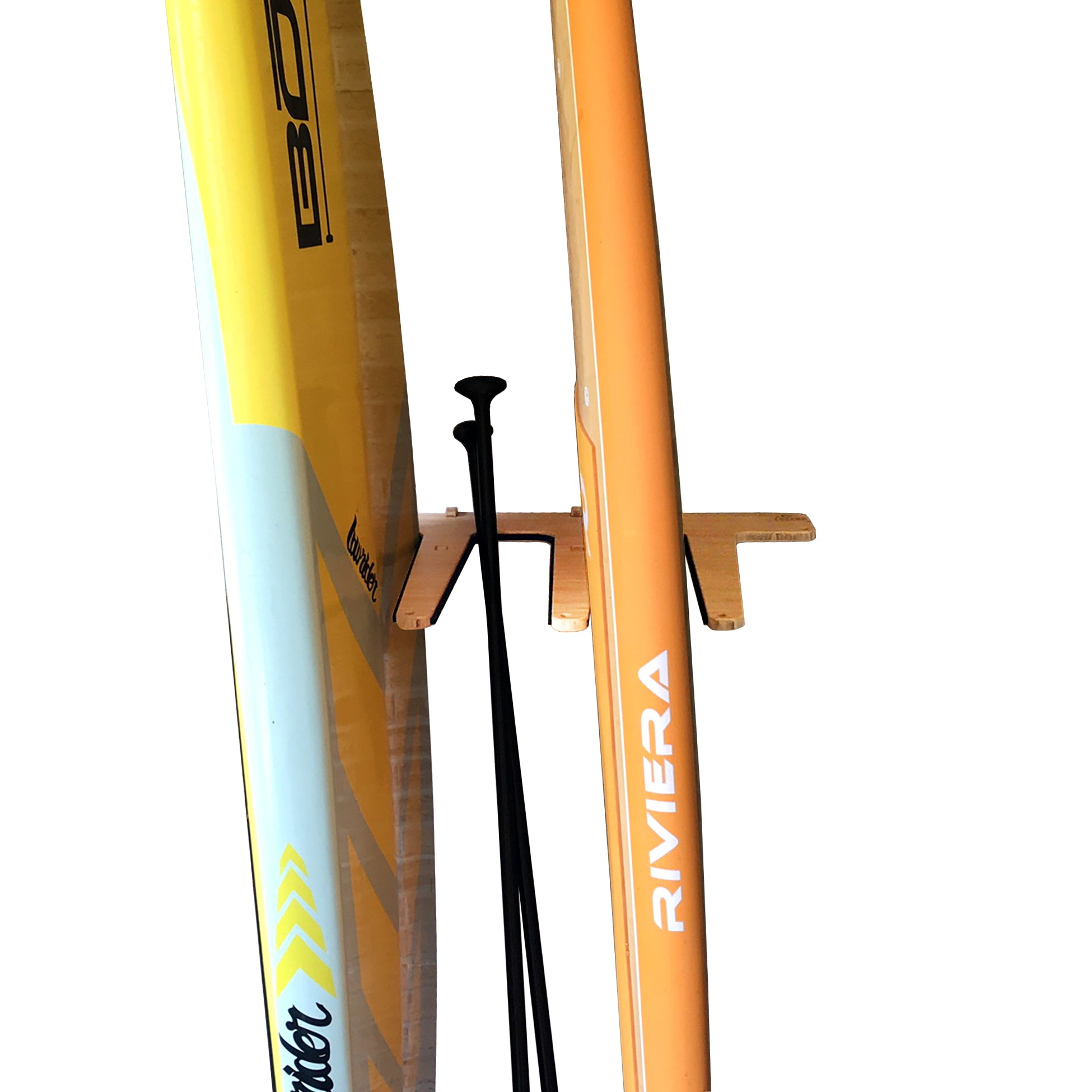 Wall-Mounted Vertical SUP Rack - Indoor Vertical Surf Rack
