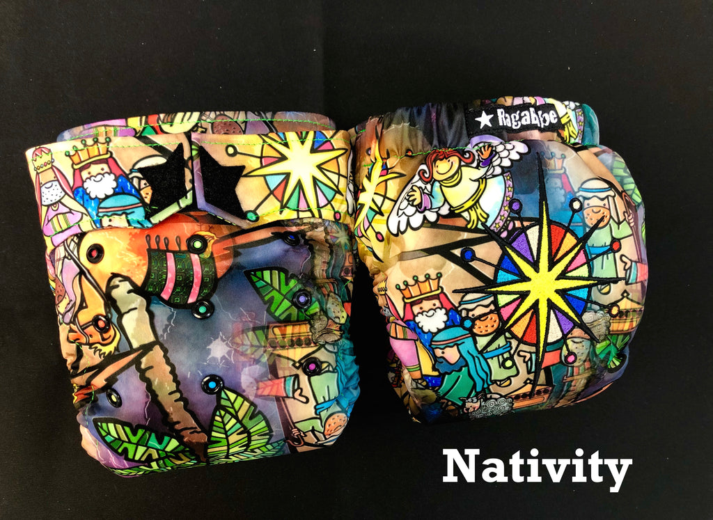 Nativity Holiday Diaper