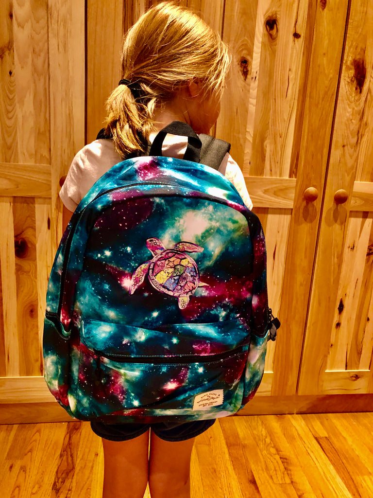 Embroidered Backpack/Diaper Bag