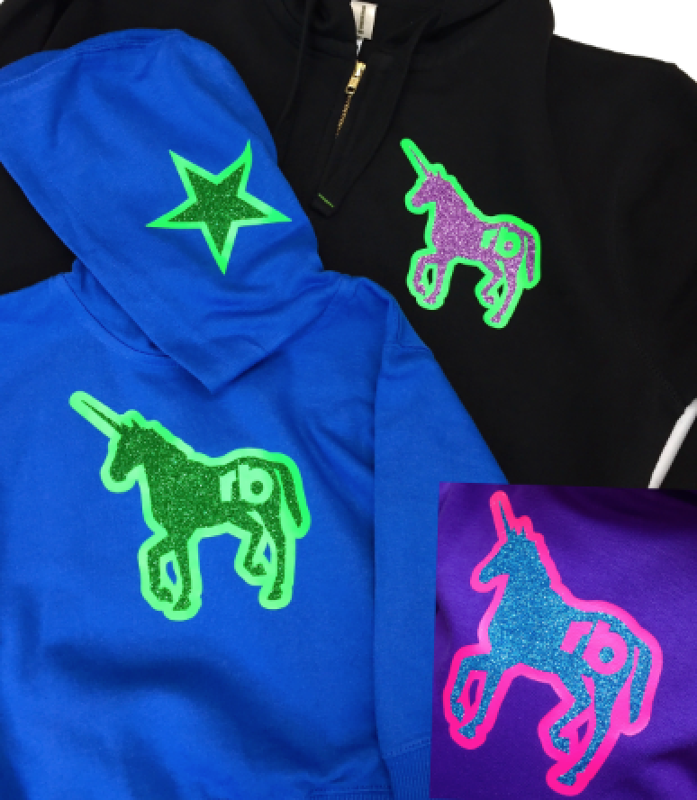 RagaBabe Unicorn Hoodies of All Sizes