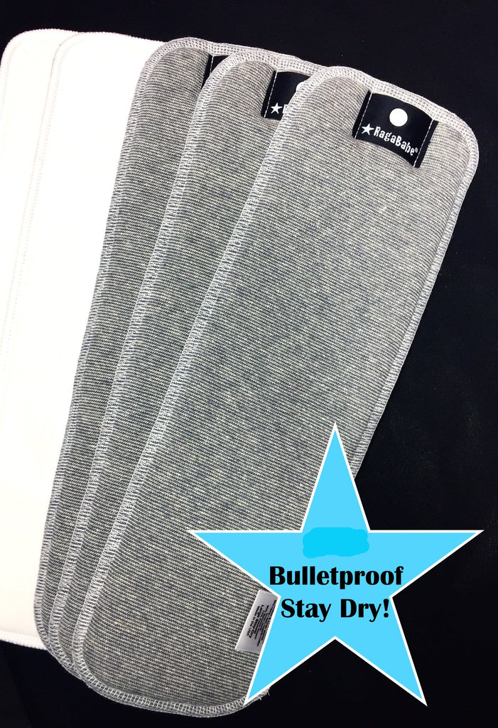 RagaBabe Bulletproof Inserts and Hemp Doublers