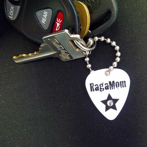 RagaMom Key Tag