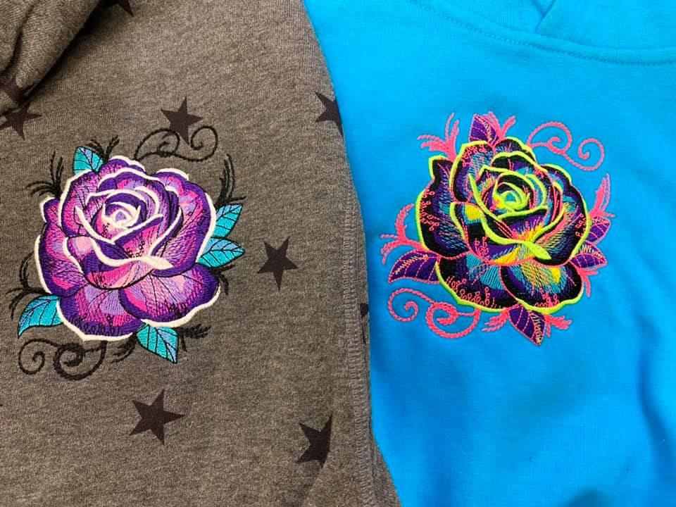 CHILD/ YOUTH SIZES Alien/Rose Custom Hoodie Stocking