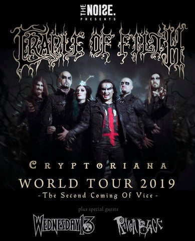 Raven Black - Cradle Of Filth tour