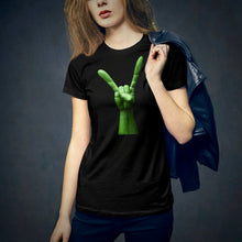 Load image into Gallery viewer, Alien Devil Horns - Women's T-Shirt