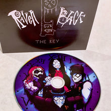 Load image into Gallery viewer, RavenBlack-TheKey-standard edition-blue disk-black and white cover