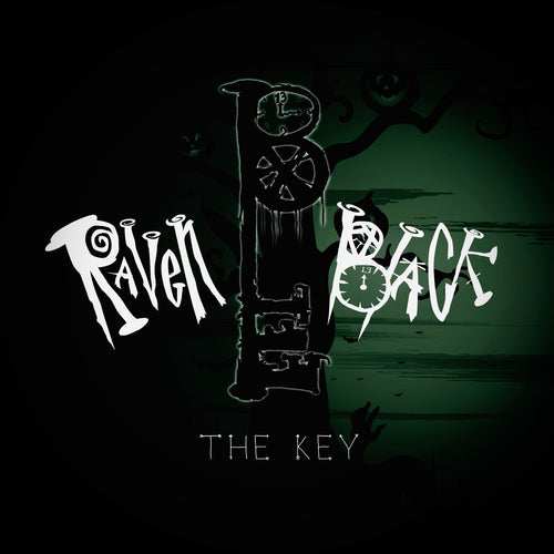 Raven Black - The Key - special edition CD cover - green
