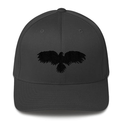 Black Raven - Structured Twill Cap