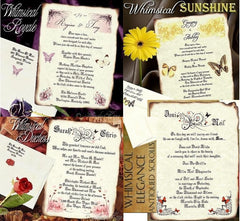Whimsical | Butterfly Wedding Invitations and Favors