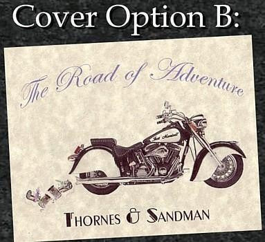 Package Folded Invitation, Reception Card, RSVP & Thank You Card Motorcycle Biker Theme