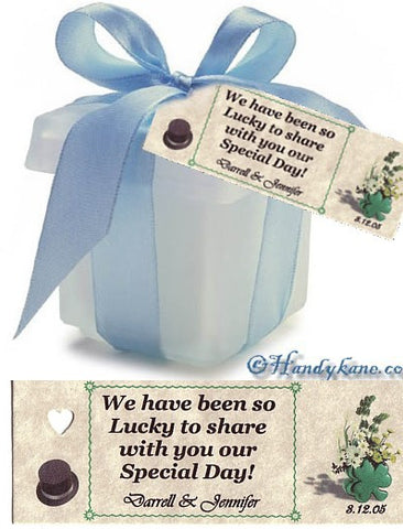 Favors Favor Tag Irish Theme