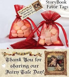 Favors Favor Tag Storybook Fairy Tale Theme