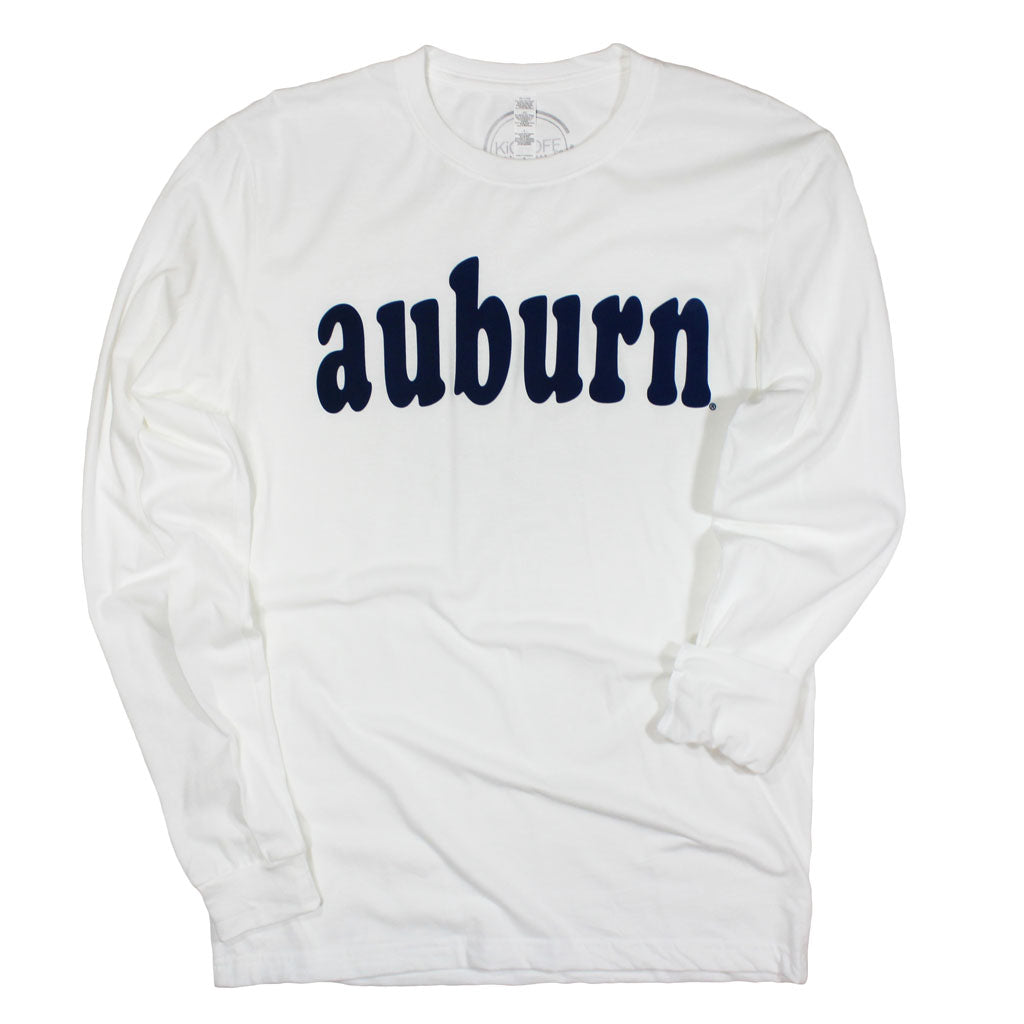 Auburn Varsity Club Long Sleeve Sueded Tee - Kickoff Co.