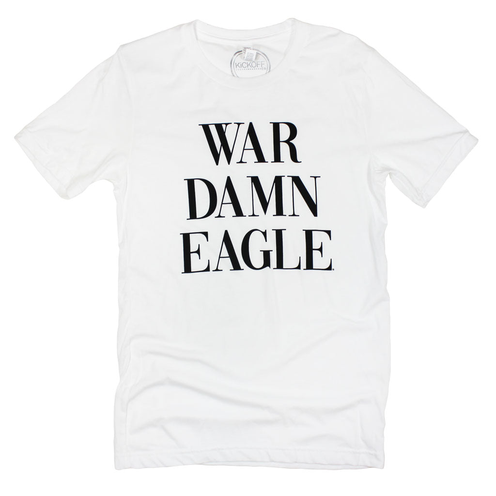 War Damn Eagle Traditions Tee