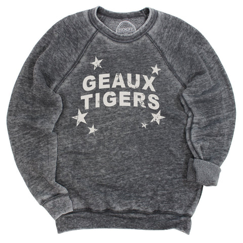 Geaux Tigers All-Star Acid Wash Pullover