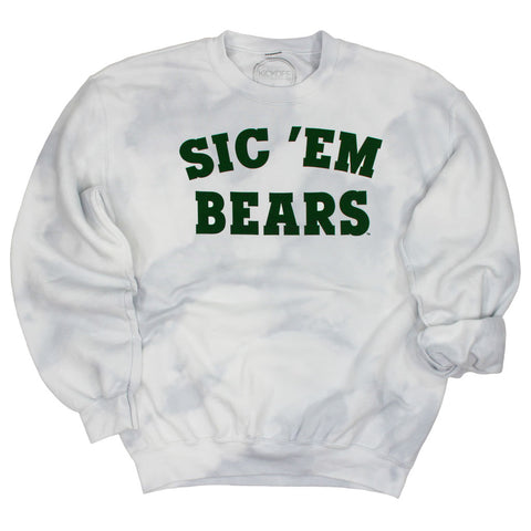 Sic 'Em Bears Dream On Tie Dye Pullover