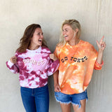 Packed Party Tie Dye For Pullover: OU