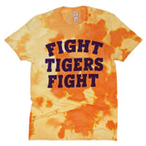 Fight Tigers Fight Dream On Tie Dye Tee