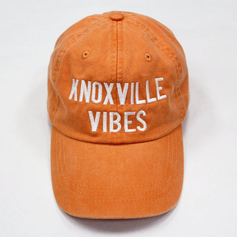 Knoxville Vibes Hat: Tangerine - Kickoff Co.