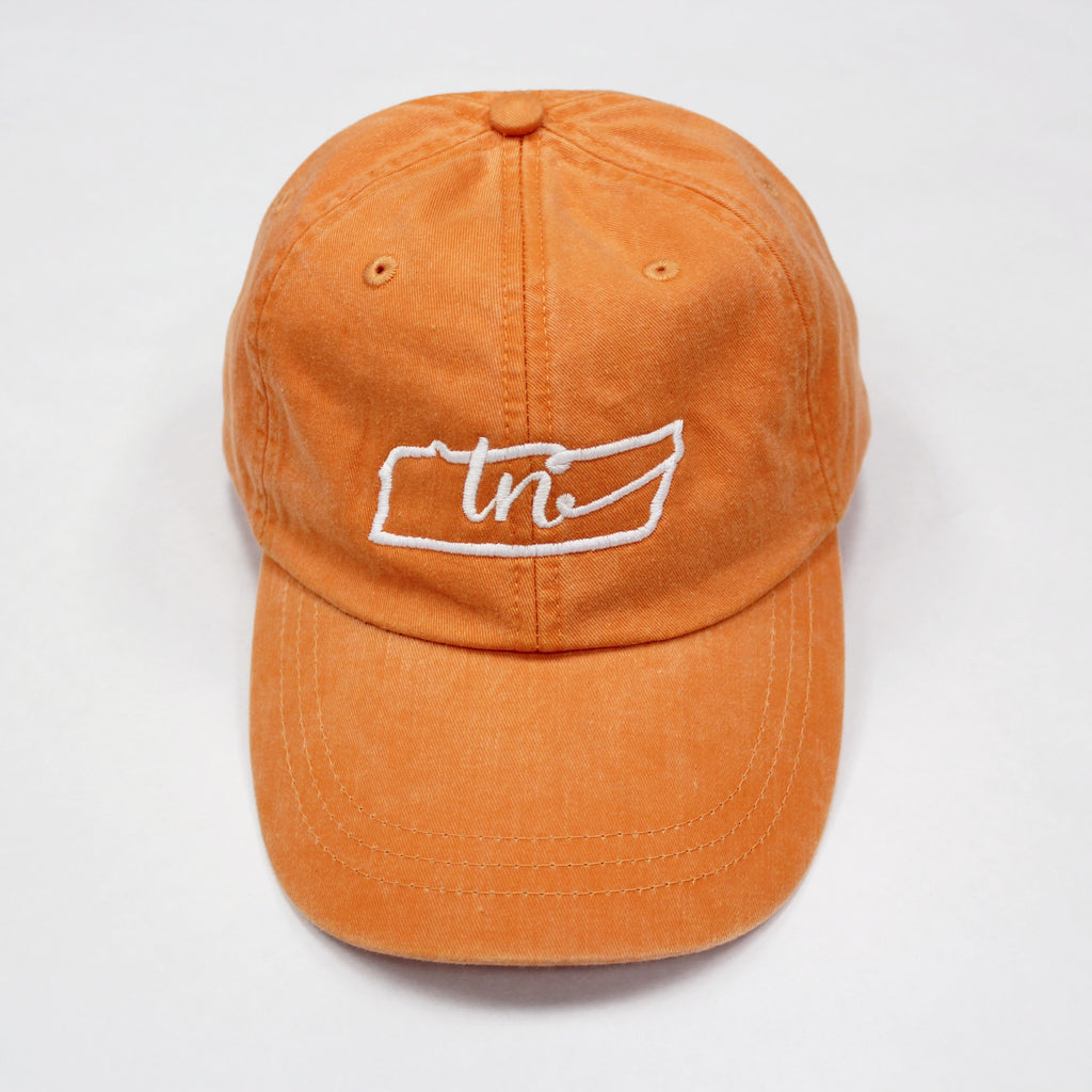 Tennessee State Loop Hat: Tangerine - Kickoff Co.