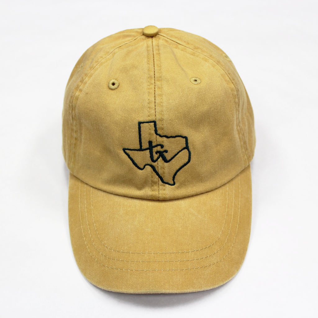 Texas State Loop Hat: Mustard - Kickoff Co.