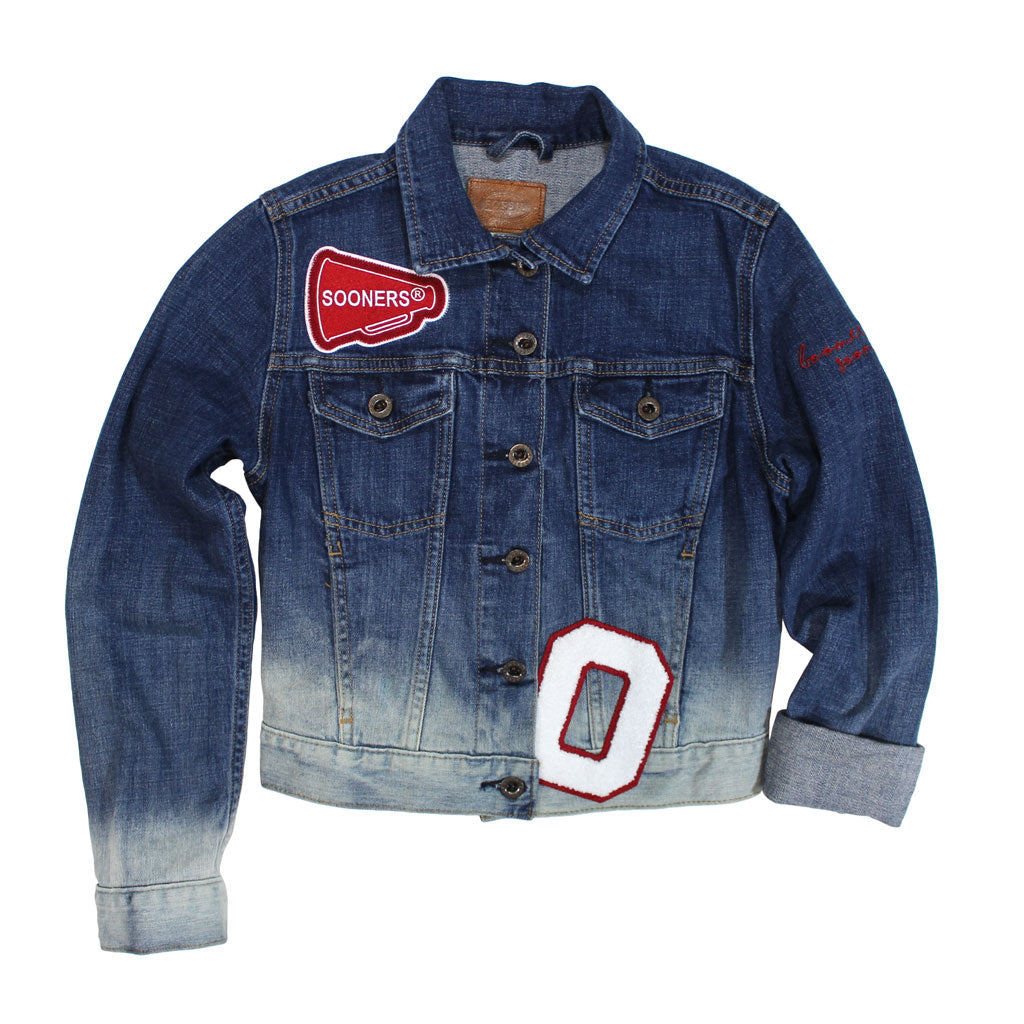 OU Fossil Limited Edition Denim Jacket - Kickoff Co.