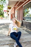 University of Central Oklahoma Circle Choker Tee - Kickoff Co.