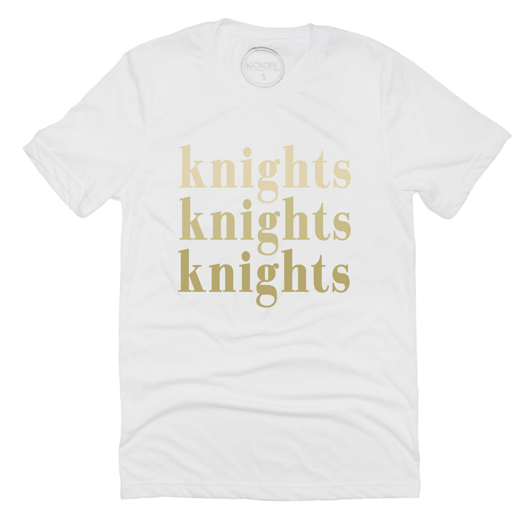 Knights On Repeat Tee