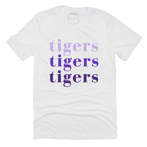 LSU Tigers On Repeat Tee