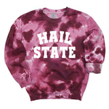 Hail State Dream On Tie Dye Pullover