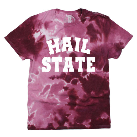 Hail State Dream On Tie Dye Tee