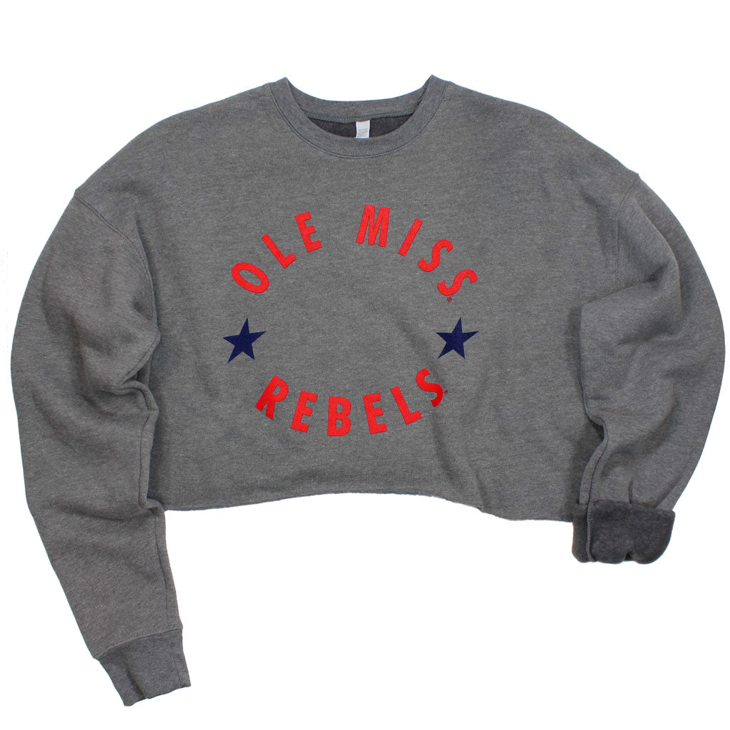 Ole Miss Winner's Circle Crop Pullover