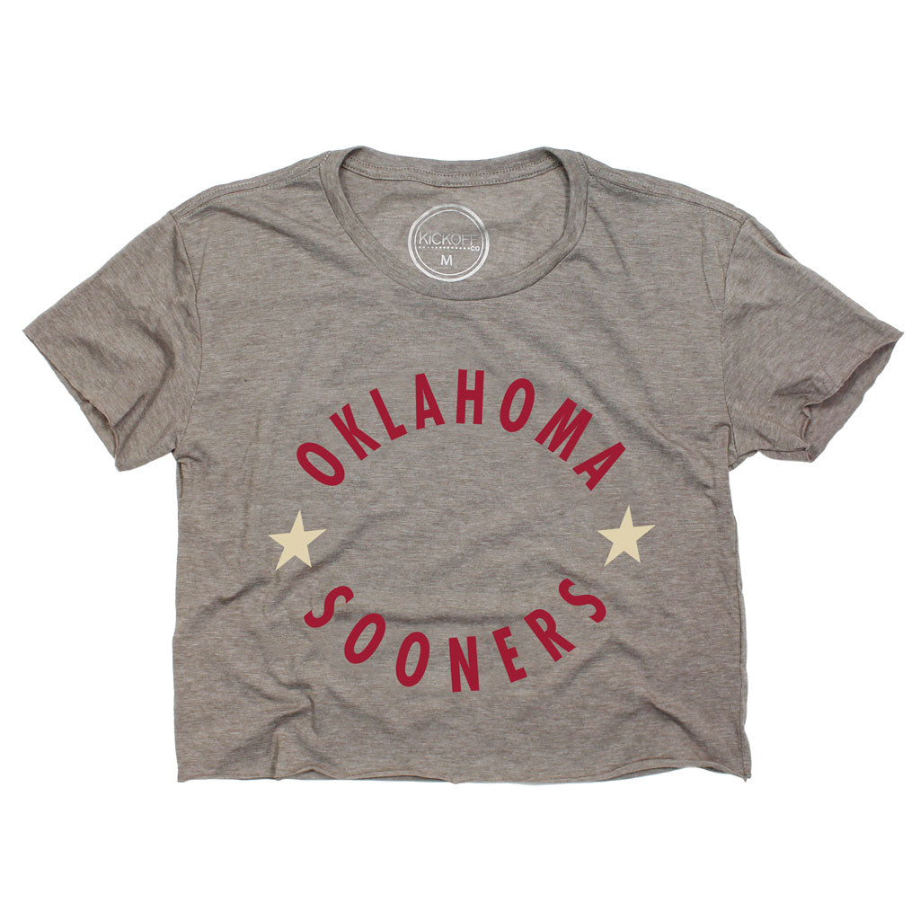 Oklahoma Winner's Circle Crop Tee
