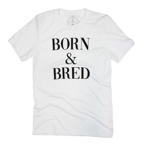 Born & Bred Traditions Tee: Black - Kickoff Co.