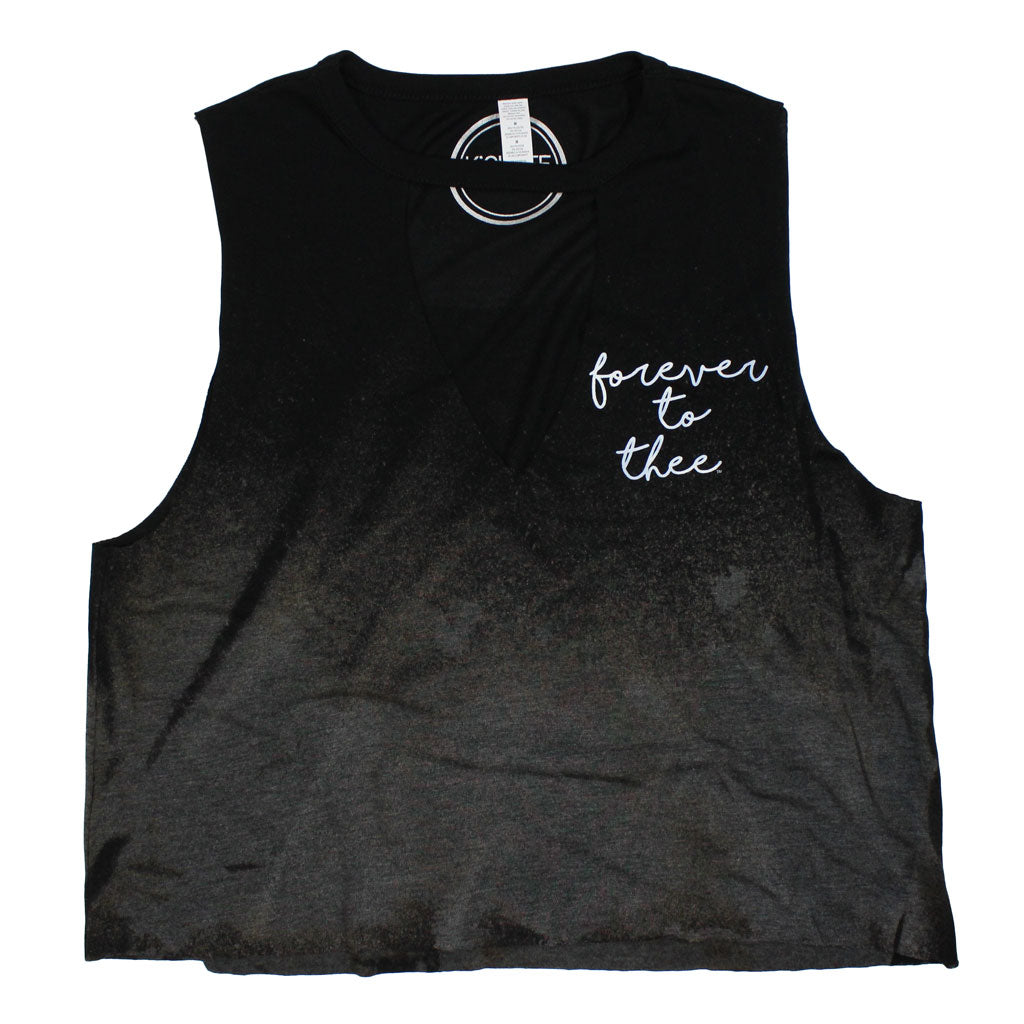 Forever to Thee Pocket Pride Bleached Cut-Out Tank
