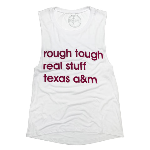Texas A&M Anthem Muscle Tank - Kickoff Co.