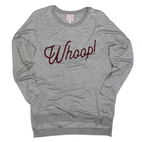 Texas A&M Whoop! Spirit Side Slit Pullover - Kickoff Co.