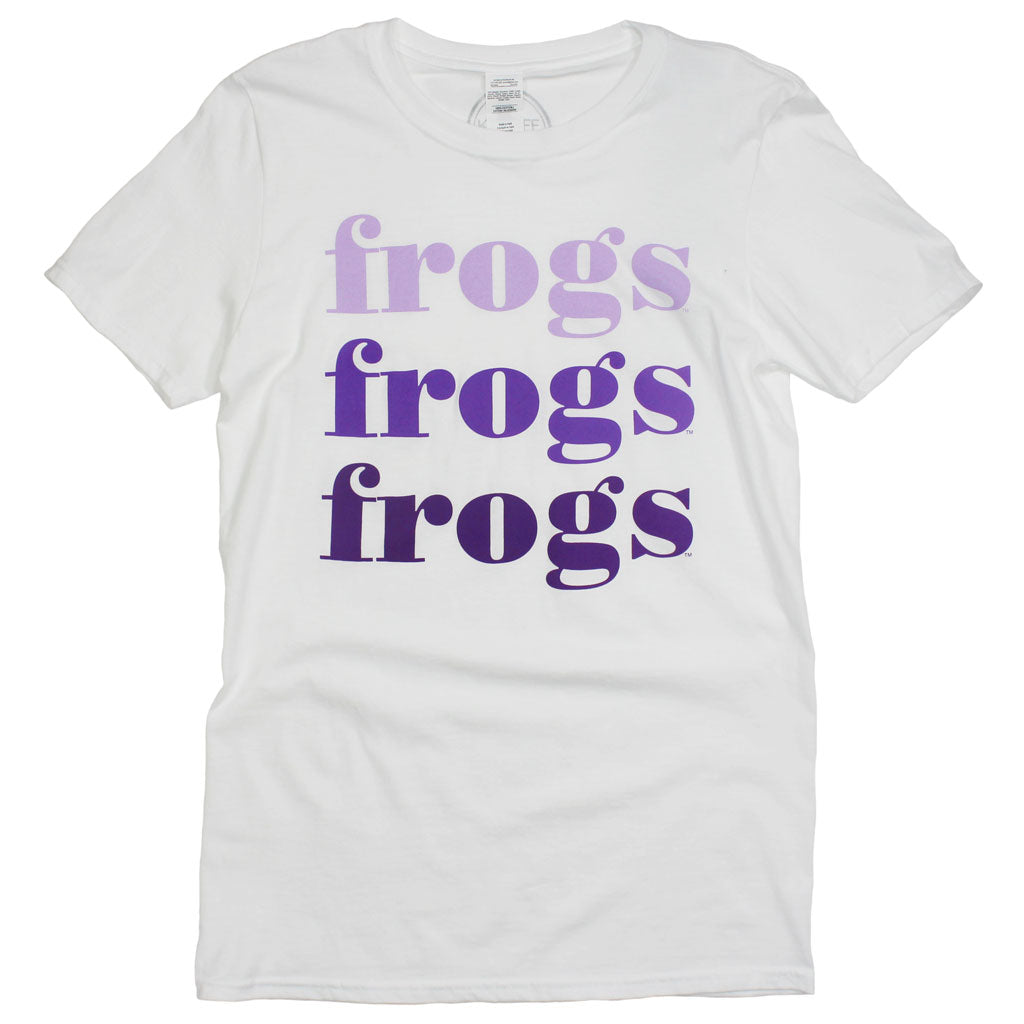 Frogs On Repeat Tee