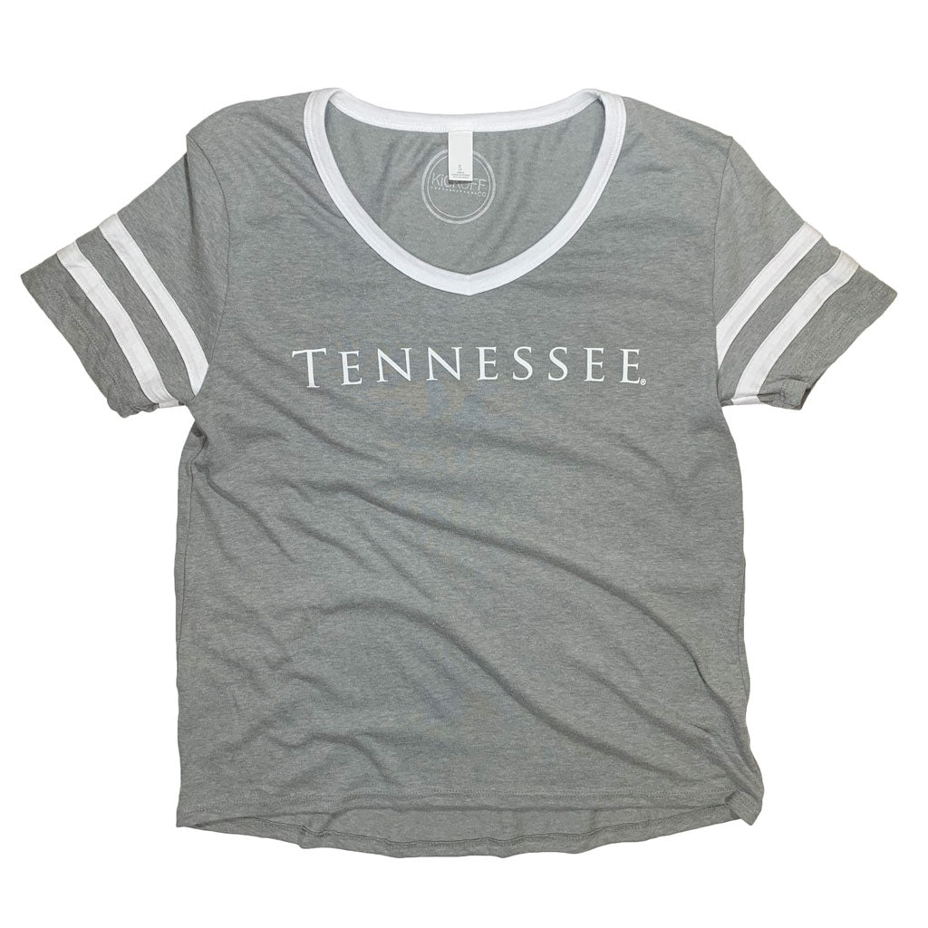 Tennessee Simply Jersey Tee - Kickoff Co.