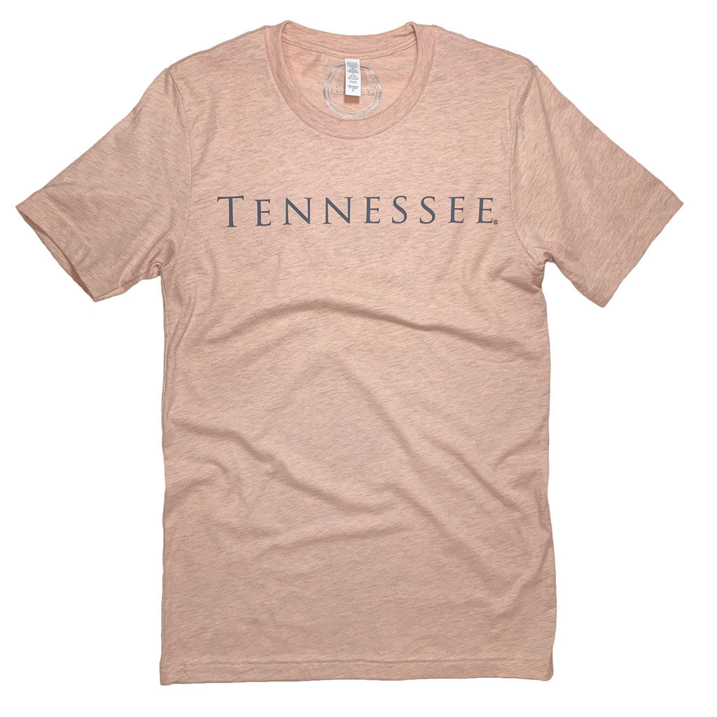 Tennessee Simply Tee: Peach
