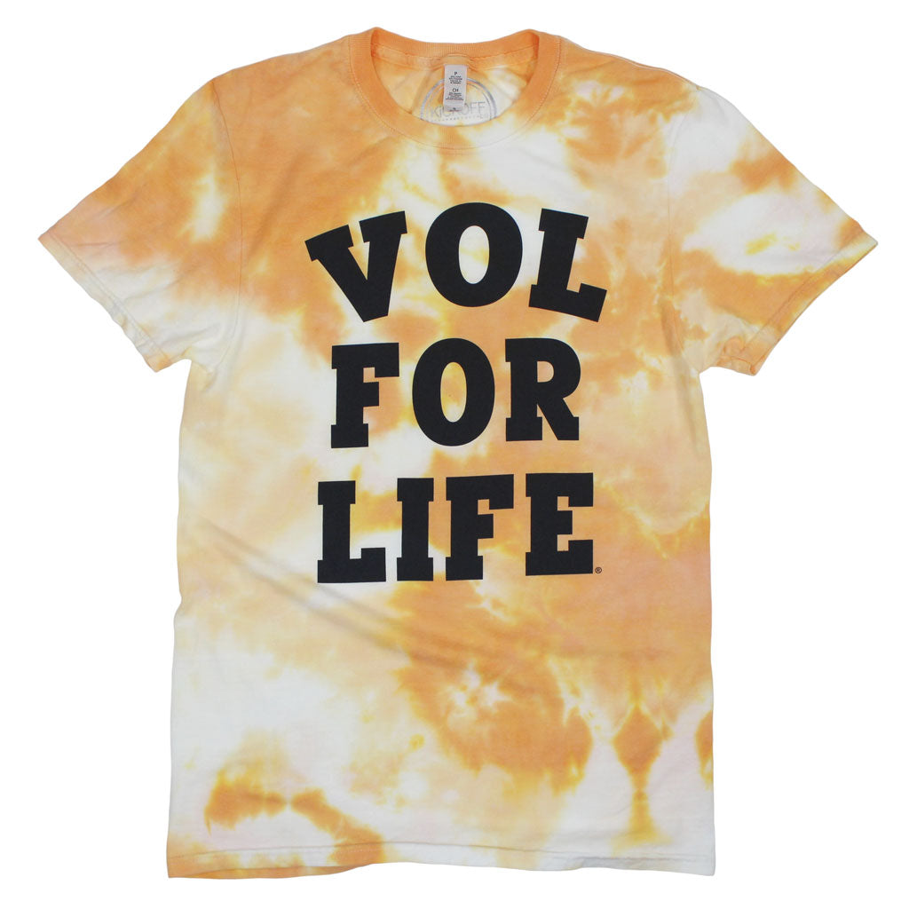 Vol for Life Dream On Tie Dye Tee